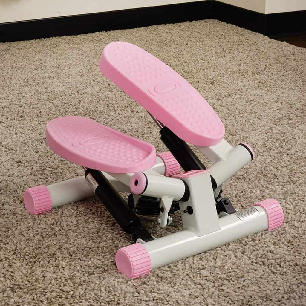 Sunny Health and Fitness Adjustable Mini Stair Stepper 3