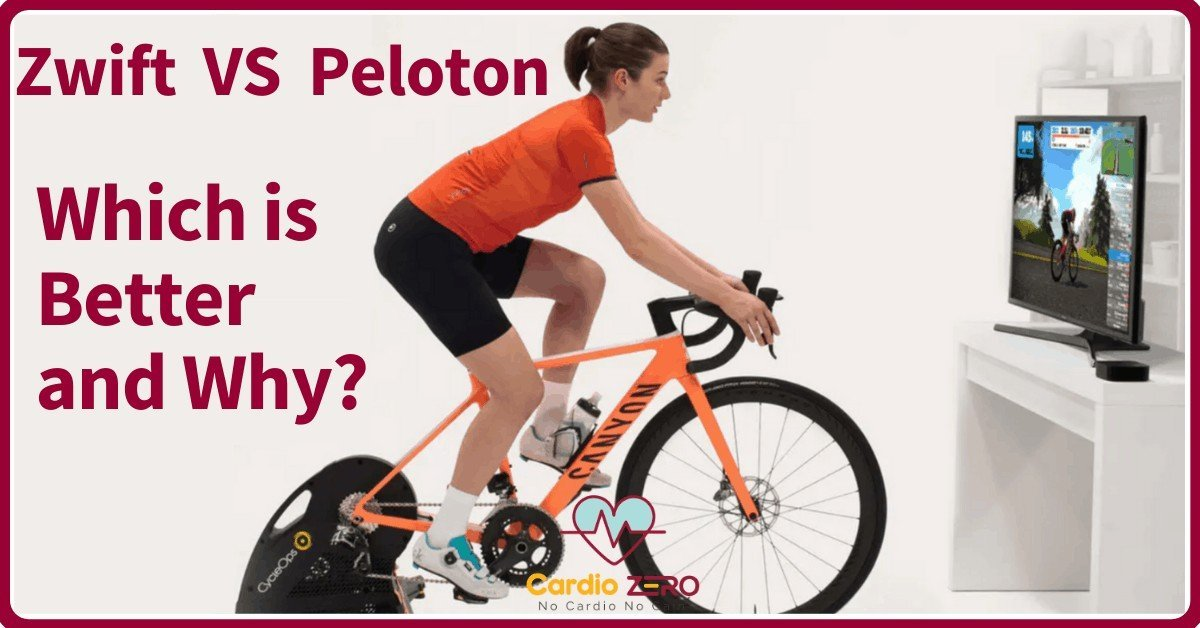 Zwift vs Peloton apps