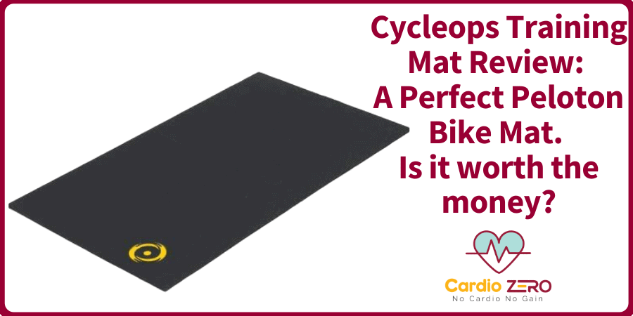 Cycleops Training Mat Review